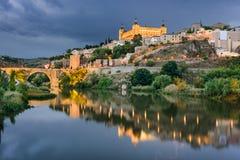 Toledo Spain Skyline Stock Images