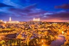 Toledo Spain Skyline Royalty Free Stock Photos