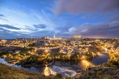 Toledo, Spain on the Tagus River Stock Photos