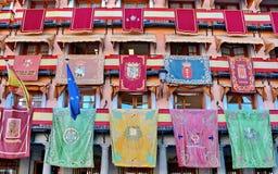 Toledo Spain. Toleddo Spain Corpus Christi event royalty free stock photos