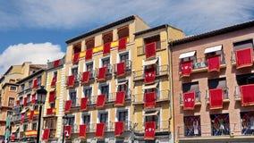 Toledo, Spain. Architecture of building in Toledo Spain Stock Photo