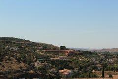 Toledo, Spain Town Skyline stock photography