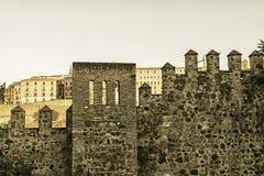 Toledo Spain: walls Stock Photography