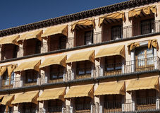 Toledo Spain: Zocodover square Royalty Free Stock Images