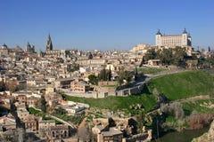 Toledo in Spanje Stock Afbeeldingen