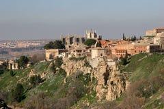 Toledo in Spanje Stock Foto