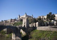 Toledo-Stadtbild Lizenzfreies Stockbild