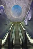 Toledo Station Mosaic Art Work Stock Photography