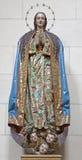 Toledo - statua di vergine Maria in monastero di St John dei re Fotografia Stock