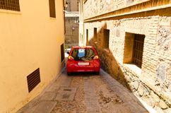 Toledo street view Royalty Free Stock Image