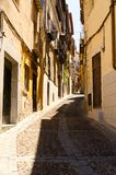 Toledo street view Royalty Free Stock Images