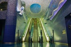 Toledo Subway Station foto de archivo libre de regalías