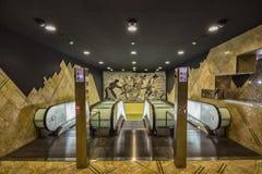 Toledo Subway Station Arkivbilder