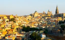 Toledo in sunny morning Royalty Free Stock Image