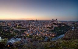 Toledo sunset Royalty Free Stock Photo