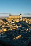 Toledo at sunset Stock Photography