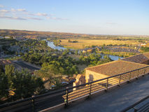 Toledo and Tagus River, Spain. Stock Photo