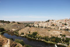 Toledo and Tagus river, Spain Royalty Free Stock Photo