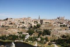 Toledo and Tagus river, Spain Stock Photos
