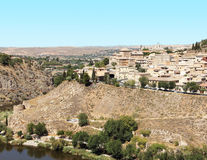 Toledo and Tagus river, Spain Stock Photo
