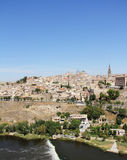 Toledo and Tagus river, Spain Stock Photography