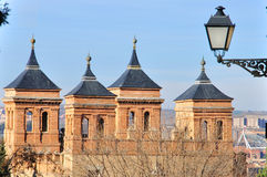 Toledo towers Stock Photography