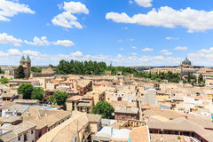 Toledo town Cityscape in Spain. Stock Photography