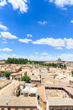 Toledo town Cityscape in Spain. Royalty Free Stock Photo