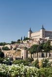 Toledo u. x28; Spain& x29;: der Alcazar Lizenzfreies Stockbild