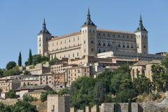 Toledo u. x28; Spain& x29;: der Alcazar Stockbilder