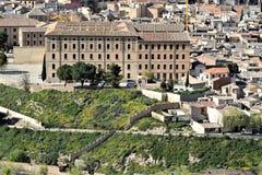 Toledo, uma das cidades as mais bonitas na Espanha imagens de stock