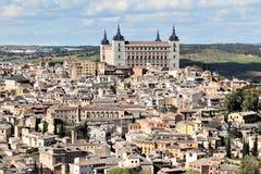 Toledo, uma das cidades as mais bonitas na Espanha Imagens de Stock Royalty Free