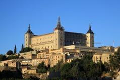 Toledo, vieille ville espagnole à l'Alcazar Photographie stock libre de droits
