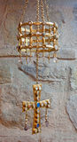 Toledo - Visigoths crown from San Roman church. On March 8, 2013 in Toledo, Spain Stock Photography