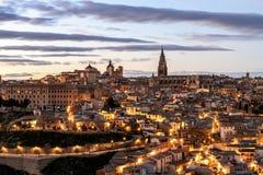 Toledo widok Obrazy Stock