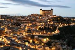 Toledo widok Zdjęcia Stock