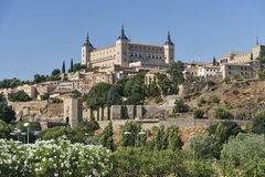 Toledo & x28;Spain& x29;: the Alcazar Royalty Free Stock Image