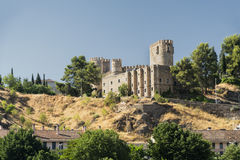 Toledo & x28;Spain& x29;: castle Royalty Free Stock Photo