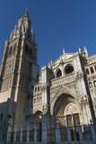 Toledo & x28; Spain& x29;: gotische kathedraal Royalty-vrije Stock Fotografie