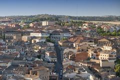 Toledo (Spain): panoramic view Stock Photography