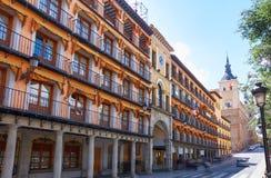 Toledo Zocodover in Castile La Mancha Spain. Toledo Zocodover plaza in Castile La Mancha of Spain stock photos