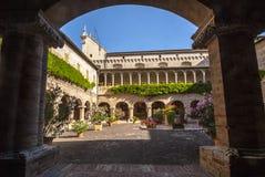 Tolentino -圣Nicola,修道院教会  库存图片