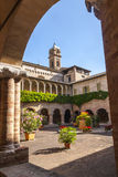 Tolentino - Church of San Nicola, cloister Stock Image