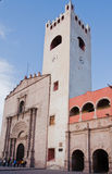 Tolentino Convent Actopan Mexico Royalty Free Stock Image
