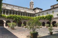 Tolentino (gränser, Italien) Arkivfoto