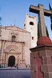 Tolentino Kloster Actopan Mexiko Stockfoto