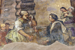 Tolentino (Märze, Italien) Lizenzfreies Stockbild
