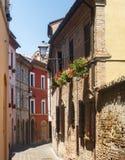 Tolentino (marsze, Włochy) fotografia royalty free