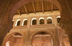 Toleod - Archs και νωπογραφίες της ρωμαϊκής εκκλησίας SAN Στοκ φωτογραφία με δικαίωμα ελεύθερης χρήσης