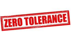 Tolerância zero Fotografia de Stock